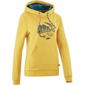 Edelrid Spotter III Hættetrøje Damer, gul